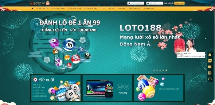 Loto188 là một trong những nhà cái hoạt động mạnh mẽ hiện nay tại thị trường Đông Nam Á
