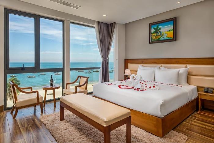 Mộng thấy mình đang ngủ ở khách sạn gần biển